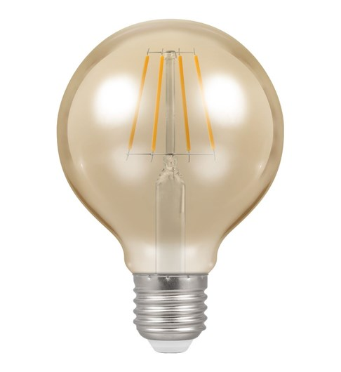 LED Globe Filament Bulb ES-E27 - Antique Bronze