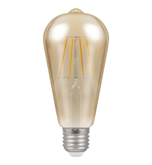 LED Filament Vintage Bulb ES-E27 - Antique Bronze