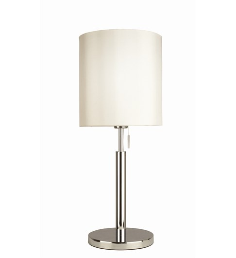 Manhattan Table Lamp - Chrome