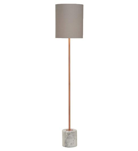Bianco Floor Lamp - Brushed Copper