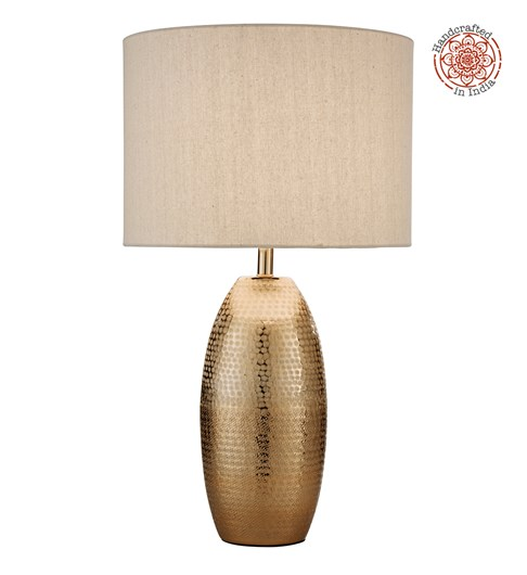 Darsha Table Lamp - Gold