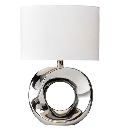 Polo Table Lamp - Chrome
