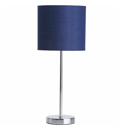 Naples Tall Stick Table Lamp - Navy