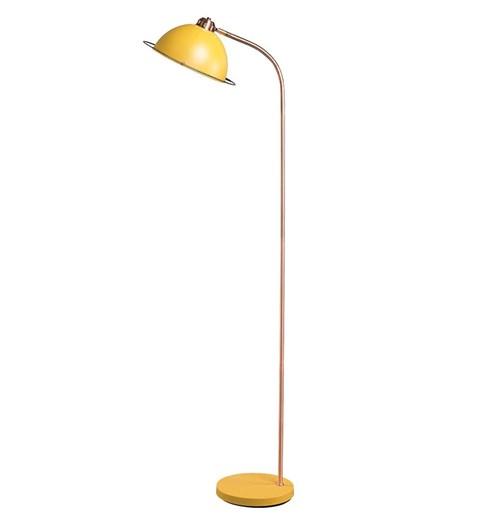 Bauhaus Floor Lamp - Ochre