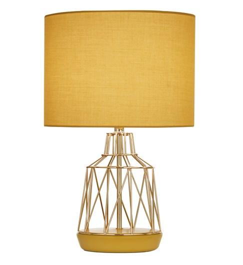 Macaron Table Lamp Ochre