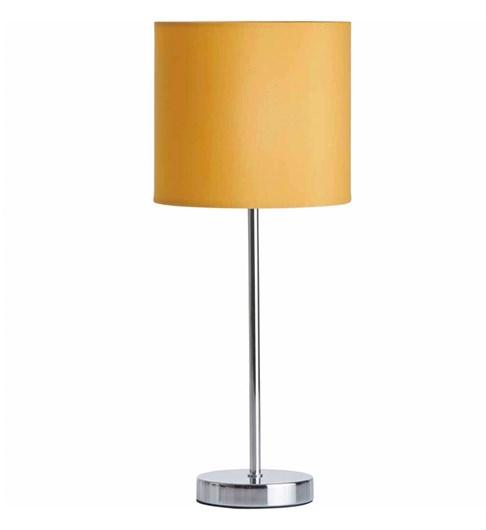 Naples Tall Stick Table Lamp - Mustard