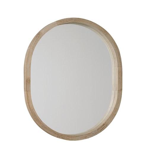 New England Oval Mirror