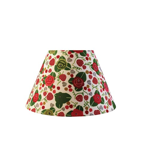 "Julie Dodsworth 10"" Strawberry Fair Lampshade"