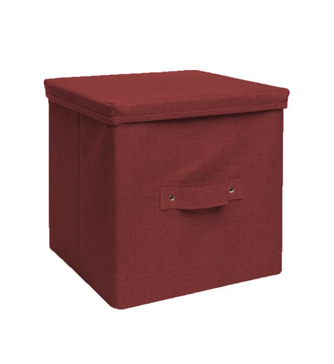 Storage Box - Burgundy