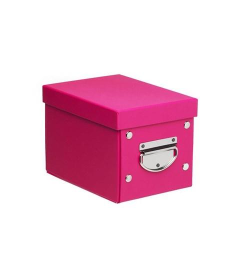 Small Storage Box - Fuchsia Pink