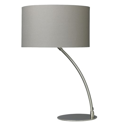 Curve Table Lamp -  Chrome