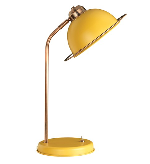 Bauhaus Table Lamp - Ochre