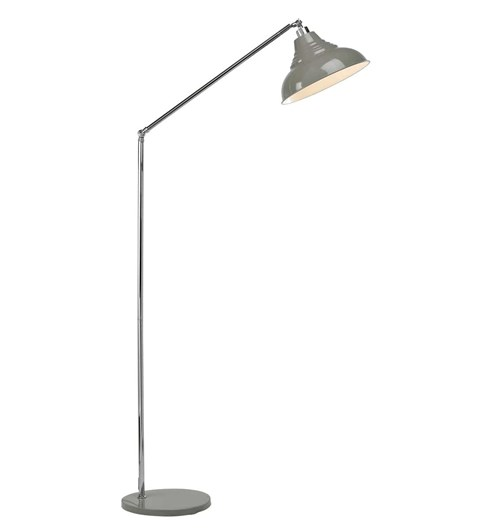 Vintage Floor Lamp - Grey