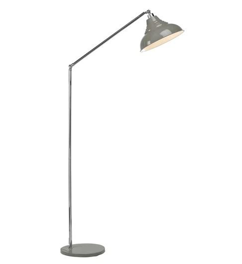 Vintage Floor Lamp - Grey