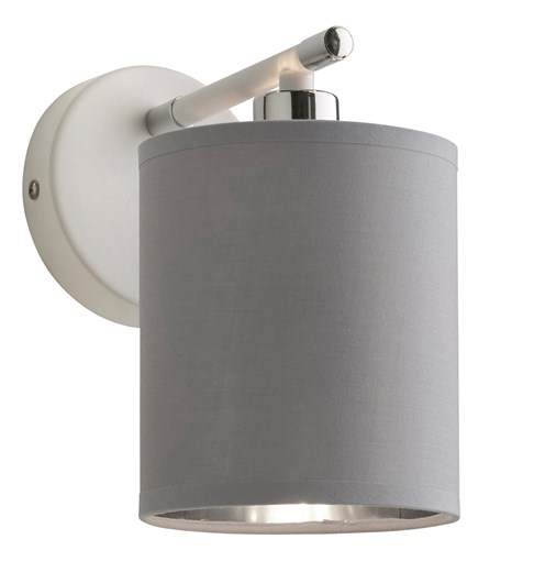 Giovanna Wall Light Fitting - White | Chrome | Grey