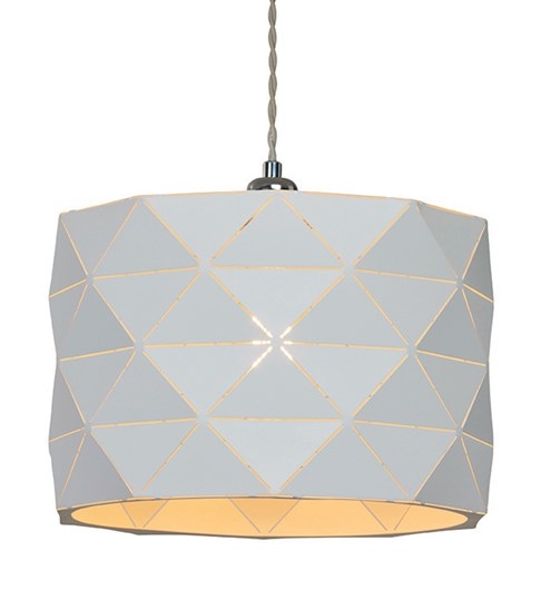 Shadow Pendant Shade - White