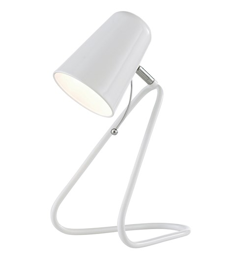 Nicky Desk Lamp - White