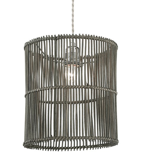 Erlina Pendant Shade - Grey