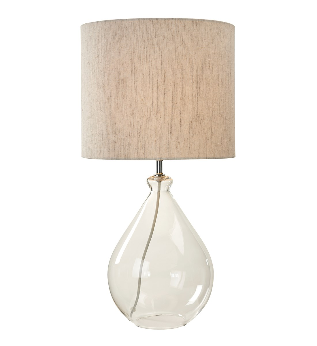 Nelis Table Lamp Glass Tear Drop Table Lamp