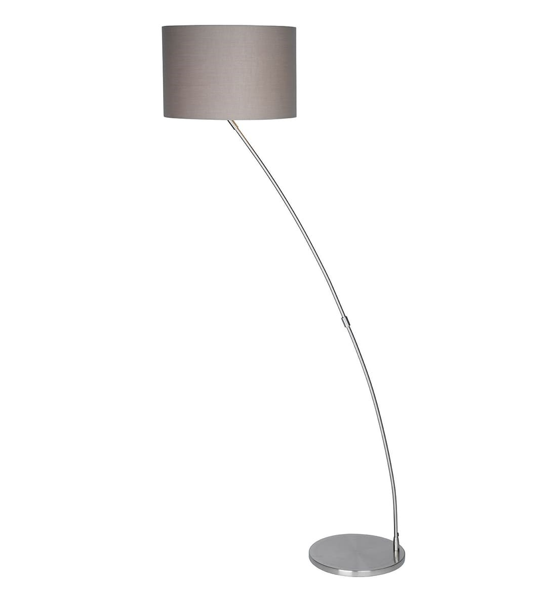 Picture of: Curve Chrome Floor Lamp Modern Arched Floor Lamp