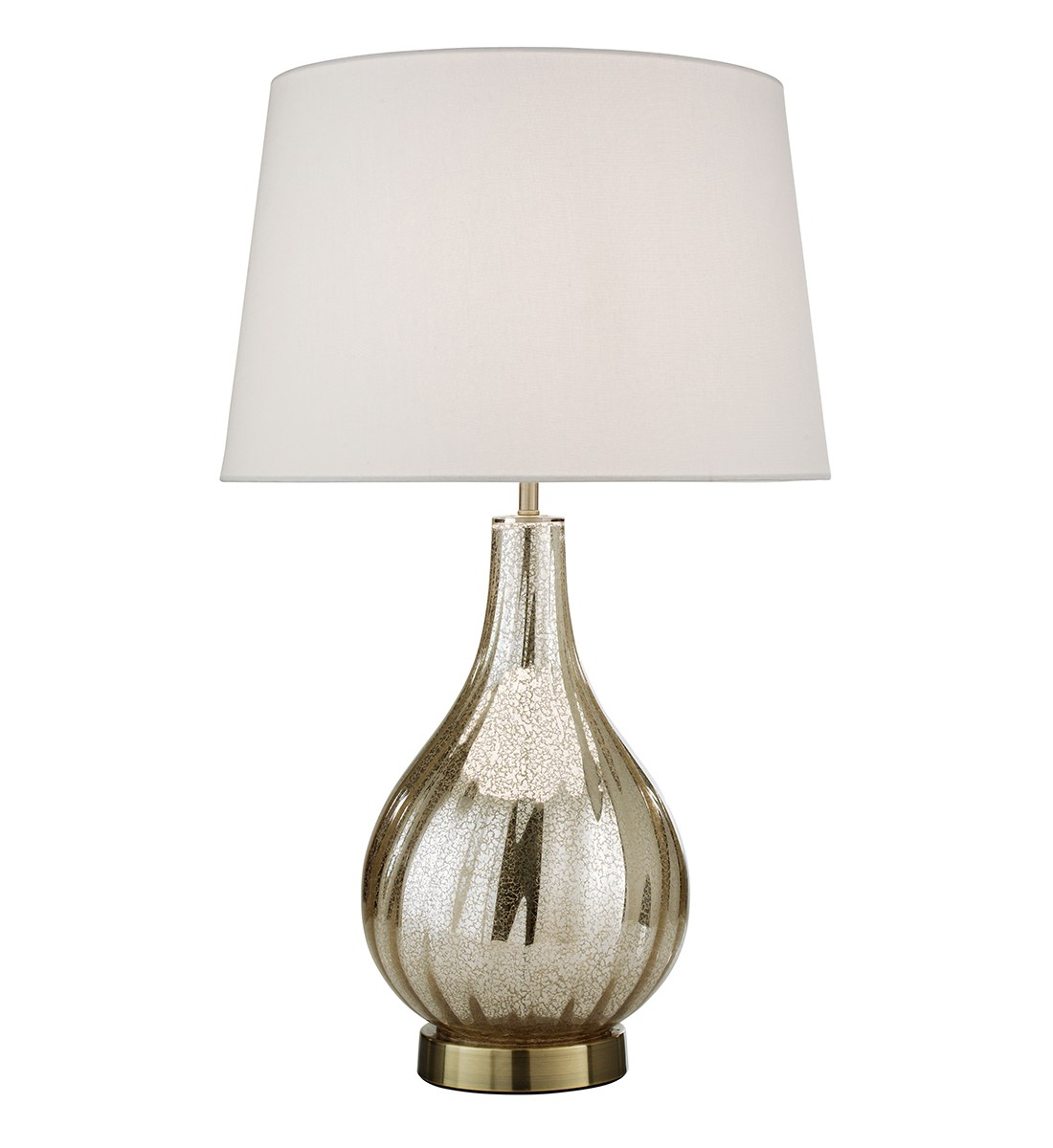 Image of: Emily Table Lamp Mercury Glass Table Lamp