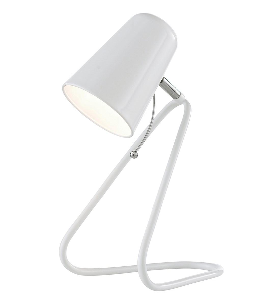 Nicky Desk Lamp White Modern Desk Lamp