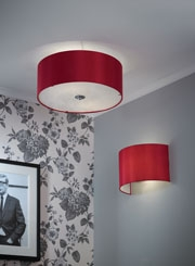 Bedroom lighting such as Tiffany lamps, table lamps, ceiling pendants and LED lights