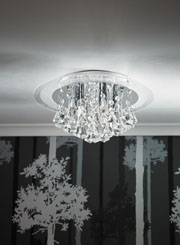 Flush Ceiling Lights, LED lighting and decorative light fittings
