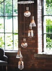 Suspended Ceiling Lights and Suspended Pendant Lighting