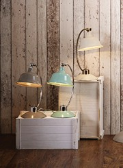 Modern and Traditional table lamps for living rooms and bedsides, warm mood lighting for the home.