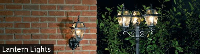 Outdoor Lantern Wall and Post Lights