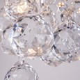 Senza Chrome & Crystal Ball Droplets Double Wall Light