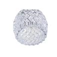 Hendon Swirl Polished Chrome & Crystal Flush Ceiling 5 Light