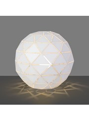 Modern Geometric Origami Metal Ball Desk / Bedside / Table Lamp / Light