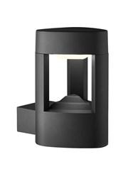 Searchlight Led Outdoor Wall Light - Dark Grey - Ip44