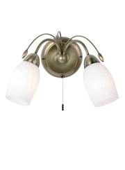 Endon Meadow Wall Light - 2 Light - Antique Brass