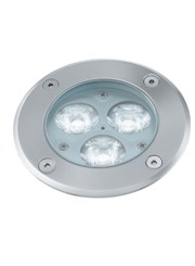 Searchlight Led Recessed Indoor & Outdoor Walkover Light - Stainless Steel -Ip67