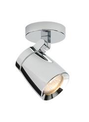 Endon Knight Single Bathroom Spotlight - Chrome - Adjusatable - IP44