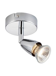 Endon Amalfi Single Spotlight - Chrome - Adjustable