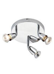 Endon Amalfi Triple Spotlight - Chrome - Adjustable