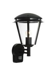 Endon Inova PIR Outdoor Wall Light - Matt Black - IP44