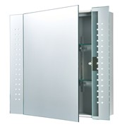 Endon Revelo IP44 2W LED Bathroom Mirror Cabinet