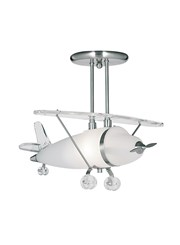 Searchlight Novelty Aeroplane Pendant Ceiling Light - High Quality