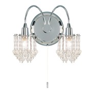 Endon Milieu Wall Light - Chrome
