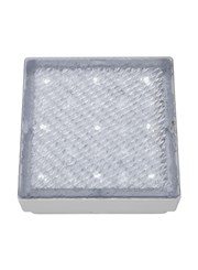Searchlight Led Recessed Indoor & Outdoor Square Walkover Light 15Cm - Ip68