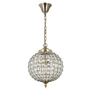 Endon Tanaro Pendant Light - Antique Brass
