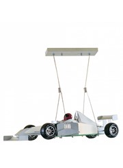 Searchlight Novelty Formula 1 Racing Car Pendant Ceiling Light - High Quality F1