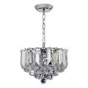 Endon Fargo Pendant Ceiling Light - Small - Chrome