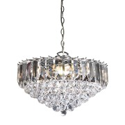 Endon Fargo Pendant Ceiling Light - Large - Chrome