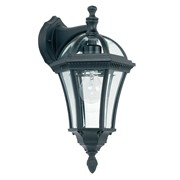 Endon Drayton Traditional Suspended Outdoor Wall Light - Black - IP44